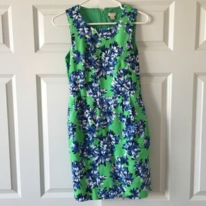 Worn Once - J.Crew Floral Dress with pockets!